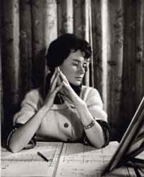 Thérèse Brenet au travail